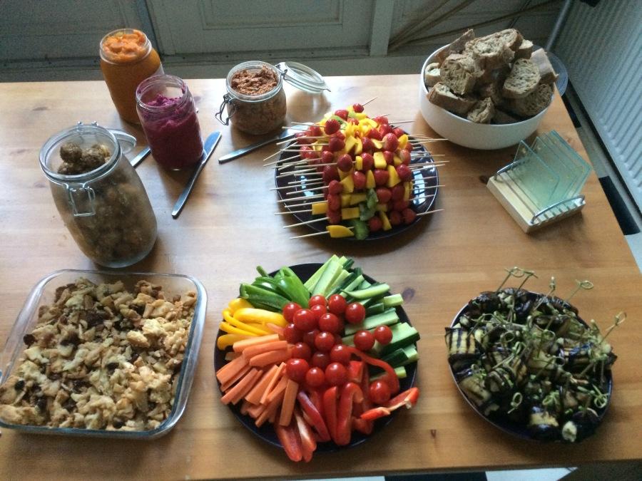 Vegan Party Food – 13ideeën
